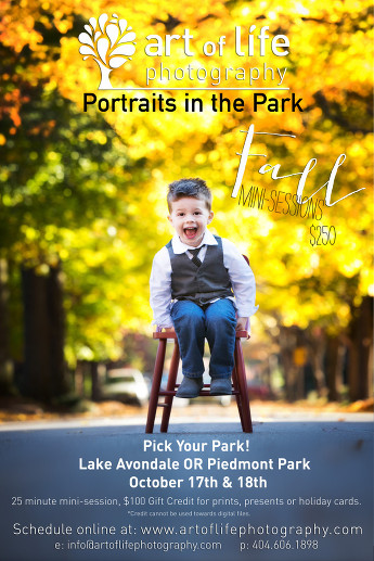 Portraits In The Park 2015