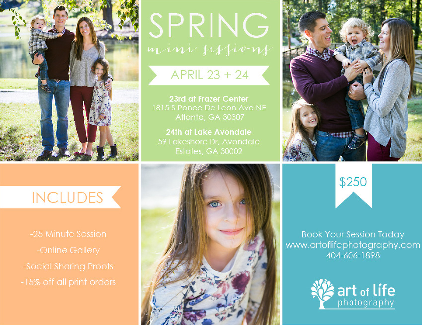 Spring Portraits In The Park 2016
